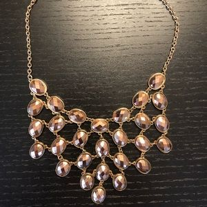 Francesca's bronze statement necklace